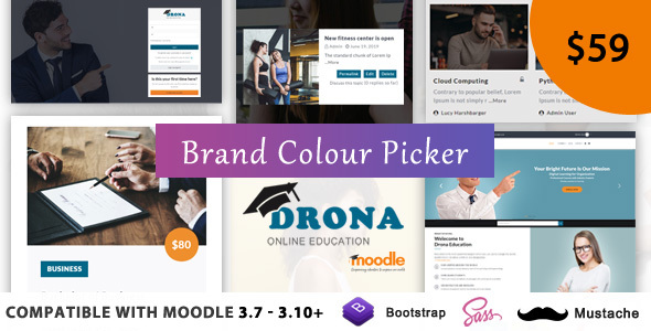 Drona - Multipurpose Moodle Theme
