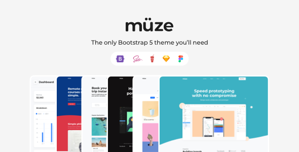 Download Muze – Multi-Purpose HTML5 Template Nulled