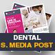 Dental Social Media Post Design - GraphicRiver Item for Sale
