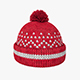 Knitted winter hat - 3DOcean Item for Sale