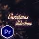 Christmas Slideshow For Premiere Pro