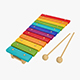 Xylophone musical toy - 3DOcean Item for Sale