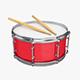 Snare drum - 3DOcean Item for Sale