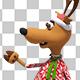 Christmas Santa Deer (6-Pack) - VideoHive Item for Sale