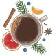 Christmass Coffee - GraphicRiver Item for Sale