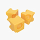 Cheese cubes - 3DOcean Item for Sale