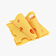 Cheese slices - 3DOcean Item for Sale