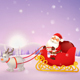 Santa Claus Christmas Reindeer Sleigh Sled - GraphicRiver Item for Sale