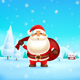 Santa Claus Carrying a Gift Bag - GraphicRiver Item for Sale