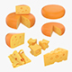 Cheese set - 3DOcean Item for Sale
