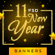 New Year Banners - GraphicRiver Item for Sale