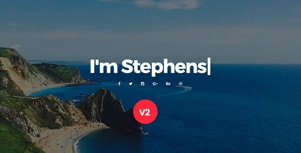 Stephens - Personal Portfolio Joomla Template