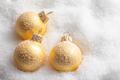 Christmas balls on snow - PhotoDune Item for Sale