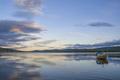 Small boat in lake Funasdalssjon - PhotoDune Item for Sale