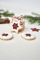 Stack of cookies with marmalade tied with Christmas rope - PhotoDune Item for Sale