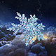 Christmas Snowflake Intro - VideoHive Item for Sale