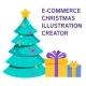 E-commerce Christmas Illustration Creator - GraphicRiver Item for Sale