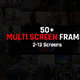 Multi Screen Frames Pack - VideoHive Item for Sale
