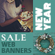 New Year Sale Web Banners - GraphicRiver Item for Sale