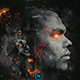 Galaxy Abstract Face Photoshop Action - GraphicRiver Item for Sale