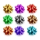 Multicolored Bows for Gifts Isolated on White - GraphicRiver Item for Sale