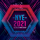 NYE 2021 Photoshop Flyer Template - GraphicRiver Item for Sale