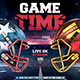 American Football Flyer v14 Football Match Template - GraphicRiver Item for Sale