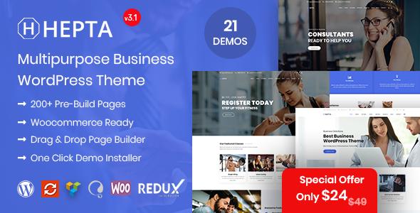 Review: Hepta - Multipurpose Business WordPress Theme free download Review: Hepta - Multipurpose Business WordPress Theme nulled Review: Hepta - Multipurpose Business WordPress Theme