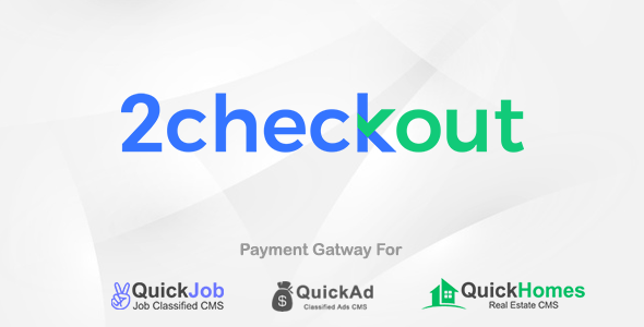 2Checkout Payment Plugin For QuickCMS