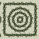 Green barbed wire vintage pattern brush - GraphicRiver Item for Sale
