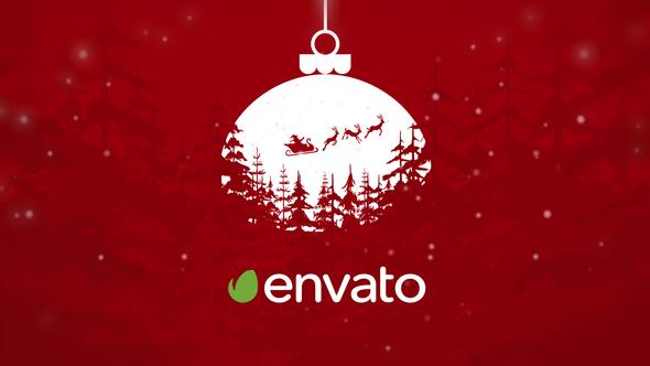 Merry Christmas Logo Reveal