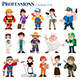 Professions - GraphicRiver Item for Sale