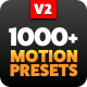 Motion Presets for Animation Composer - VideoHive Item for Sale