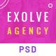 EXOLVE - Modernist Design PSD - ThemeForest Item for Sale