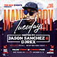 Mandatory Tuesdays - Urban Party Flyer - GraphicRiver Item for Sale
