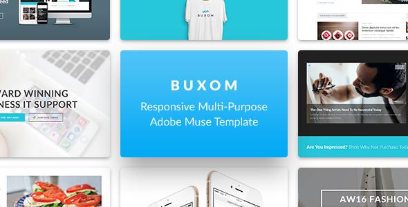Buxom - Responsive Multi-Purpose Muse Szablon