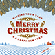 Vintage Merry Christmas Greeting Card - GraphicRiver Item for Sale