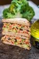 Delicious vegan toast sandwich - PhotoDune Item for Sale