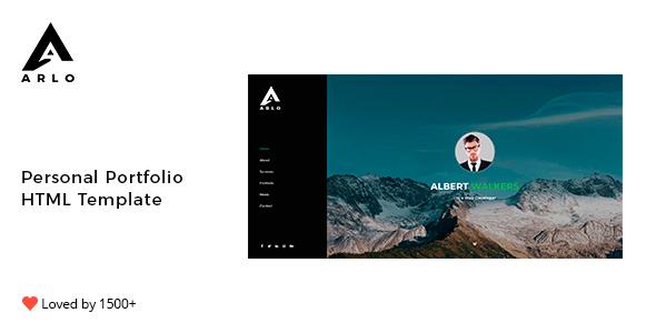 Arlo - Personal Portfolio Template