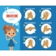 How Ho Wash Your Hands Poster For Kids - GraphicRiver Item for Sale