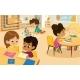 Montessori School Class - GraphicRiver Item for Sale