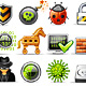 icon set n°14 - web security - infinity series - GraphicRiver Item for Sale