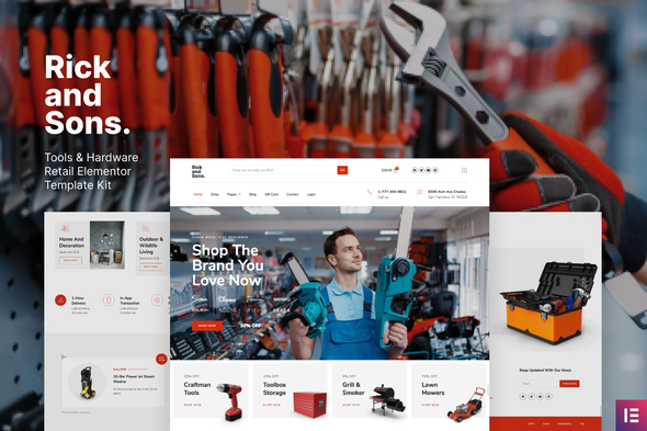Review: Rick and Sons – Tools & Hardware Retail WooCommerce Template Kit free download Review: Rick and Sons – Tools & Hardware Retail WooCommerce Template Kit nulled Review: Rick and Sons – Tools & Hardware Retail WooCommerce Template Kit