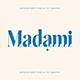 Madami - modern serif - GraphicRiver Item for Sale