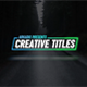 Creative Titles - VideoHive Item for Sale