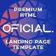 Oficial Business Support Services HTML Landing Page Template - ThemeForest Item for Sale