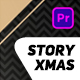Gold Christmas Instastory - VideoHive Item for Sale