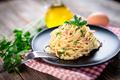 Spaghetti alla carbonara. Pasta with pancetta, egg, parmesan cheese and cream sauce. - PhotoDune Item for Sale