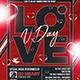 Valentines Day Flyer Template V25 - GraphicRiver Item for Sale