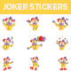 Joker Sticker Set - GraphicRiver Item for Sale